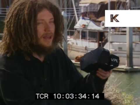 1990s Jaron Lanier Presents VPL Virtual Reality Glove
