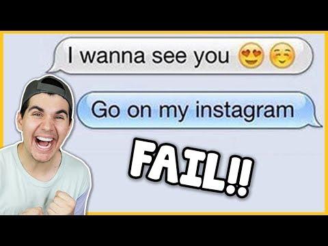 First flirty text messages