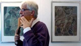 Wolgalied (Zarewitsch) [2], Panflöte