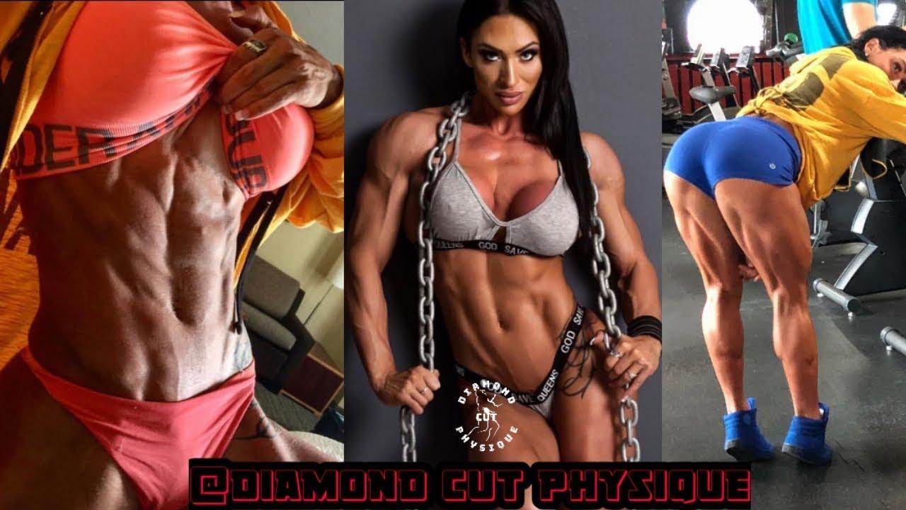<div>Azaria Glaim Most Beautiful & Muscular Fitness Model | Female Fitness Motivation</div>
