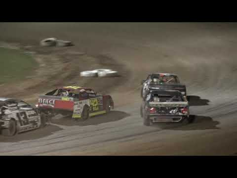 Plymouth Dirt Track Grand National Feature July 29 2019. - dirt track racing video image