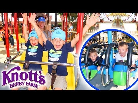 HUGE THEME PARK!  Family Fun Pack at Knott's Berry Farm