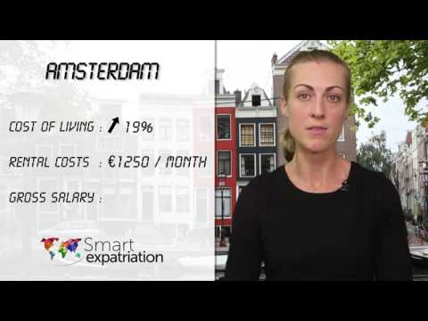 Amsterdam - Cost of Living, Rental Costs & Gross Salary
