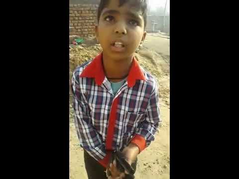 Video: बच्चा तमंचा दिखाकर बोला- पापा हमको गोली मार देंगे