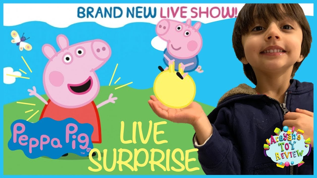 Peppa Pig Live Surprise Peppa Pig Episodes Live On Stage