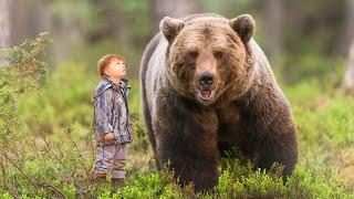 Огромный медведь доверил свою тайну маленькому мальчику и повел его за собой