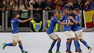 Highlights: Italia-Spagna 1-1 (6 ottobre 2016)