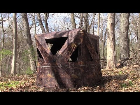 Turkey Hunting Tips - Fine Tuning Your Ground Blind Setup For Bow Hunting Turkeys