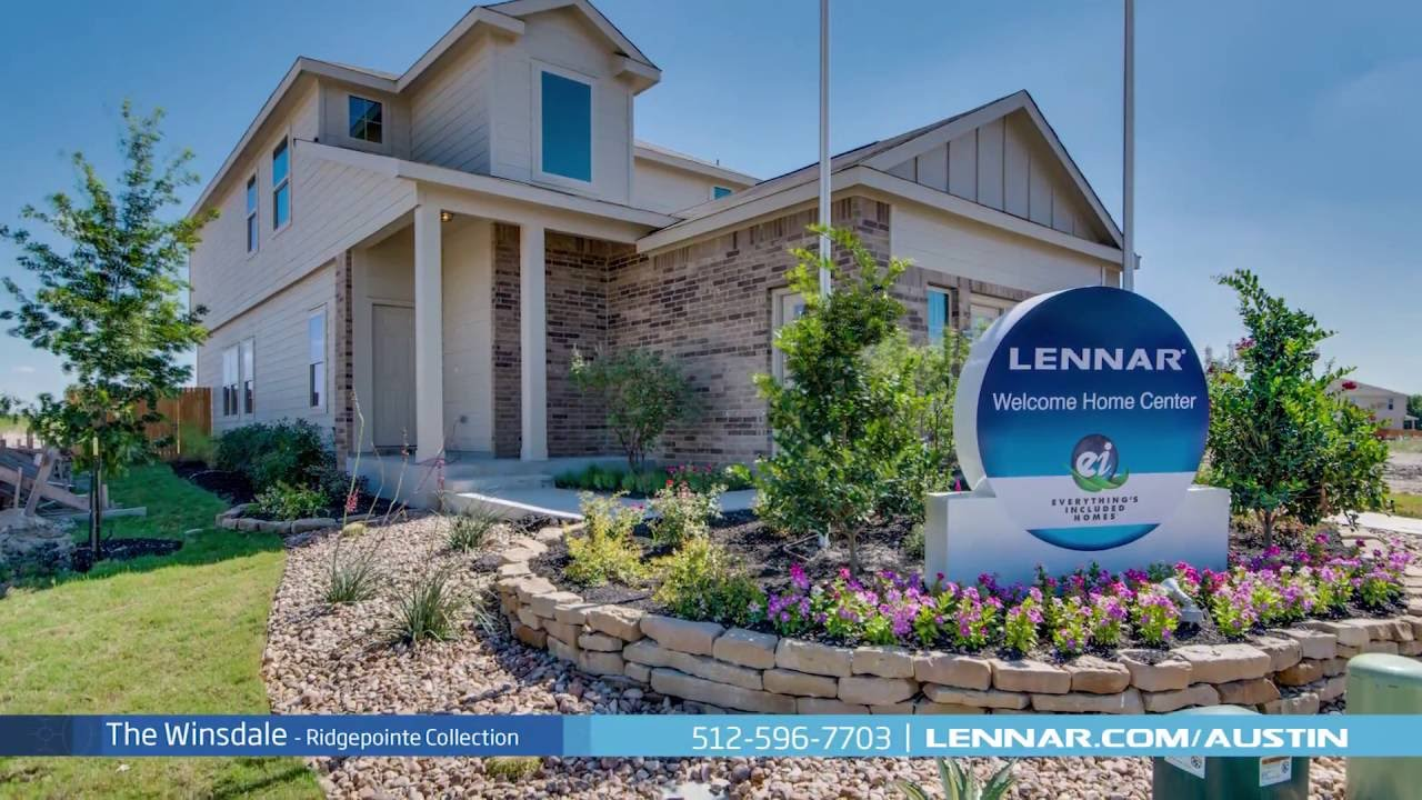 The Winsdale Model Tour Ridgepointe Collection at Sonterra - Lennar Austin