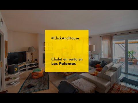 Chalet Adosado En La Piovera-Palomas Madrid - Click And House Inmobiliaria Madrid