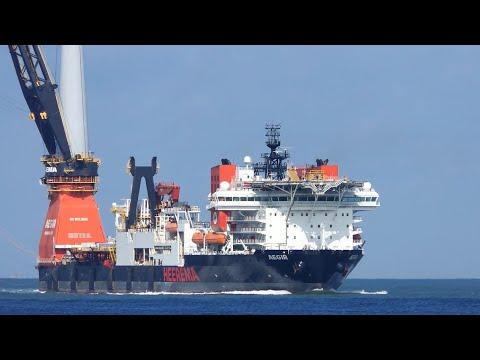 Shipspotting - AEGIR Heerema - Special delivery #180
