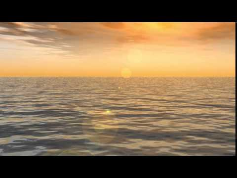 [Worship Loops] Sunset waves - Light - Wather - Free Background - IgniteMotion.com