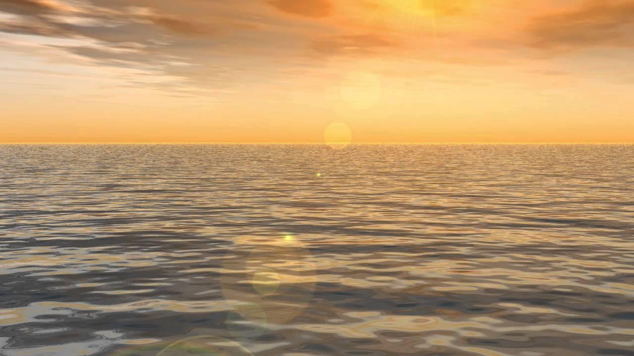 Worship Loops Sunset Waves Light Wather Free