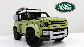 LEGO 디펜더 리뷰 (Land Rover Defend…