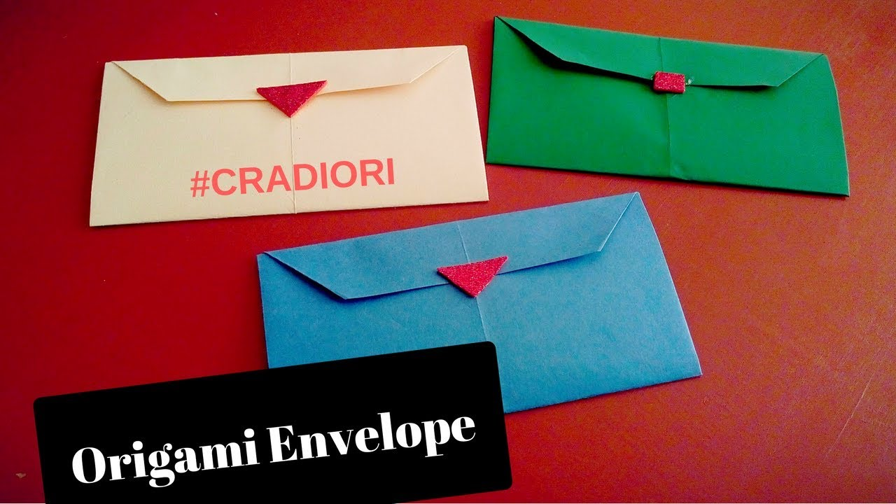 Paper Letter Origami Tutorial Steps To Make An Envelope With Rectangle
