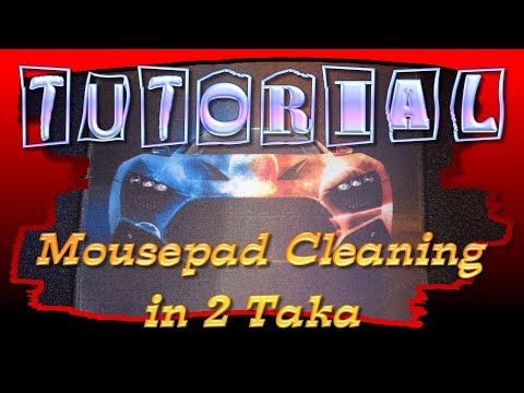 Rkmodz Tutorial Mouse pad Cleaning in 2 Taka (In Bangla)