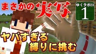 【MineCraft】ゆくラボEX バニラでリケジョが自給自足生活 DAY1【…
