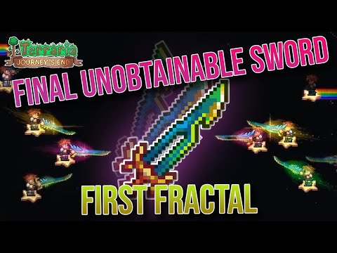Terraria's Final Unobtainable Sword | The First Fractal | The Zenith's Twin