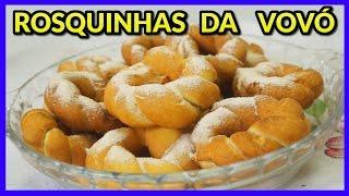 ROSQUINHAS DA VOVÓ (PASSO A PASSO)