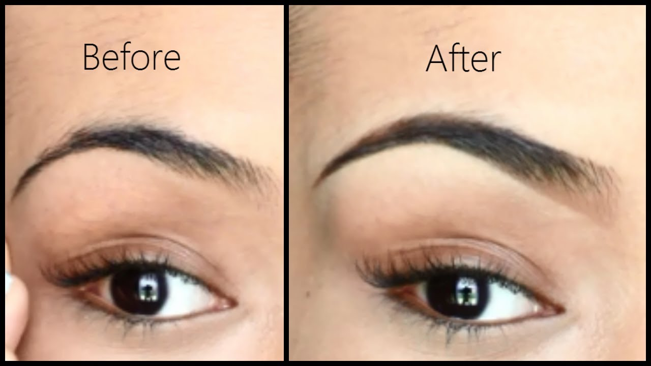Eyebrow Tutorial How I Fill In And Shape My Brows Highly