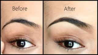 Eyebrow Tutorial - How I Fill in and Shape My Brows (Highly Requested!)