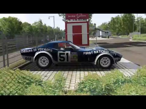 Assetto Corsa Legends / Corvette 1969 / Nordscheleife Tourist