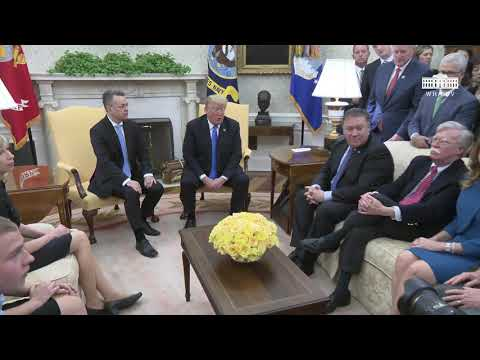President Trump Welcomes Andrew Brunson to the White House