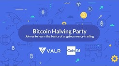 VALR/CoinED - Bitcoin Halving Party
