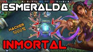 Esmeralda INMORTAL 😡 - Encontramos un HACKER en Mobile Legends - Mobile Legends - Leo