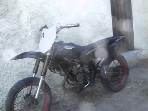 derbi 50cc avec carbu de 24 et un pot scr