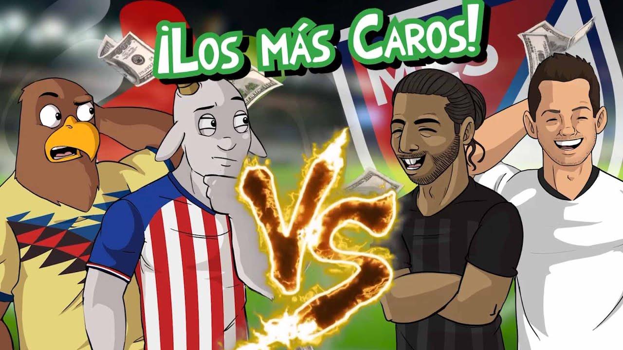 Download Los 5 FUTBOLISTAS MÁS CAROS de la Liga MX vs Los 5 MÁS CAROS de la MLS