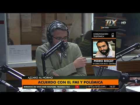 Pedro Biscay (Ex director del Banco Central) en #AzzaroAlHorno