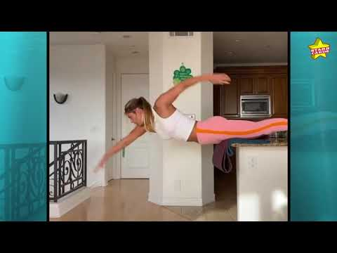 Russian Olympic Swimmer Yulia Efimova Shows Off Adamantine Abs In Kitchen At-home Workout