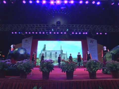 International Shanghai Folk Dance Festival 2012 - dance group from Ireland