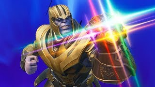 MATO A THANOS Y GANO !! (Avengers: Infinity War) - Fortnite