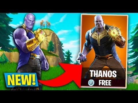 New Avengers Thanos Fortnite Skin Coming To Fortnite Fortnite