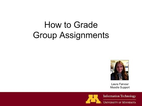 How to Grade Group Assignments