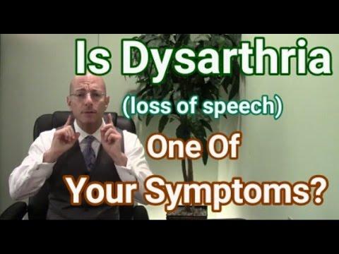 Dysarthria | Als Causes Of Slurred Speech | Loss Of Speech