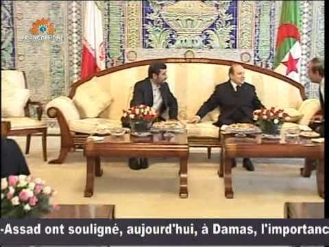 Rencontre bouteflika ahmadinejad