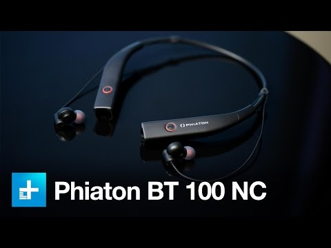 Phiaton BT 100 NC Noise Canceling Bluetooth Earphones - Hands On Review