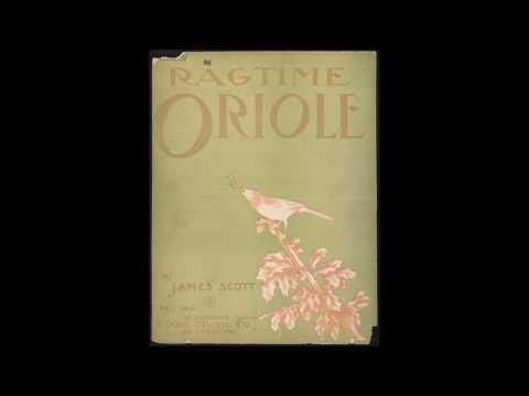 James Scott - Ragtime Oriole (1911) [HQ] + Sheet Music