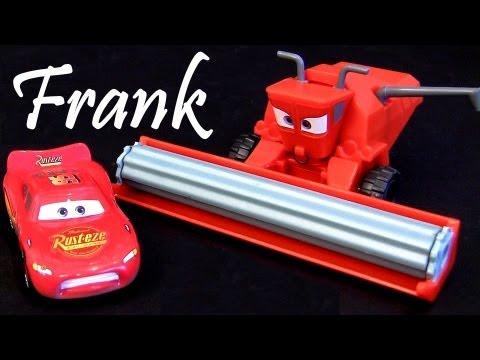 Tractor Tipping playset Lightning Mcqueen Disney Pixar Cars 2 ...
