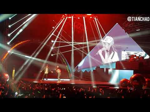 [LIVE] 漂向北方 - 邓紫棋 x 黄明志 Live In KL (合唱版)  她们还拥抱叻,难道?! #gemtang #namewe
