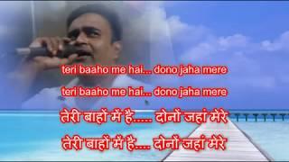 tumehen apna banane ki kasam Karaoke only for male singer by Rajesh Gupta