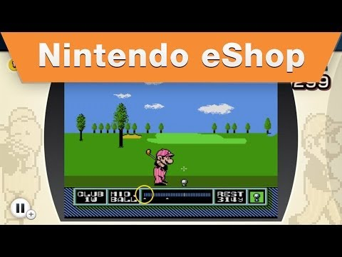 Nintendo eShop - NES Remix 2 - Find Luigi: NES Open Tournament Golf Stage 1