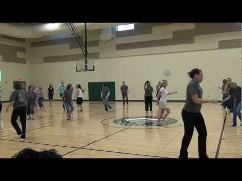 Flash Mob at Aubry Bend Middle School
