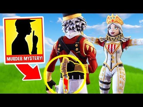 CRACKSHOT BETRAYS CRACKBELLA?! *MURDER MYSTERY* Custom Gamemode in Fortnite Creative Mode! thumbnail