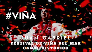 """Juan Gabriel en vivo """"Querida"""" en el Festival de Viña Del Mar Chile."""