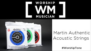 Martin Authentic Acoustic Strings!
