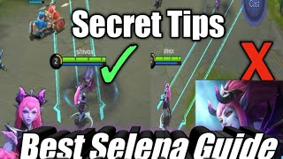 New hero Selena Guide: Mobile Legends (2018)